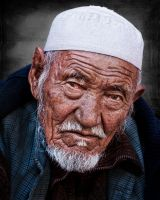 Old man by Jahanzeib