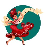 Flamenco by GenevieveFT