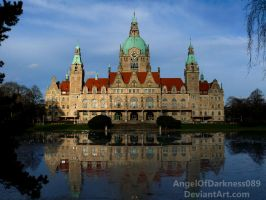 City Hall of Hannover - Portrait by AngelOfDarkness089