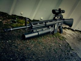 M16 with M203 by Profail
