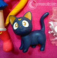 Sailor Moon Luna Figure by onsenmochi