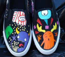 Shoes of Random Nonsense by ChumpShoes