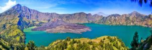 the beauty one : mt rinjani by eigerchiisel