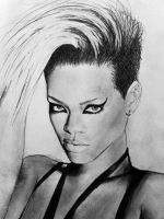 Rihanna - very old drawing by MissRoxyMFC