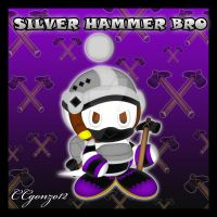 Silver Hammer Bro Chao by CCgonzo12