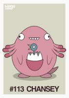 113 Chansey by hiugo