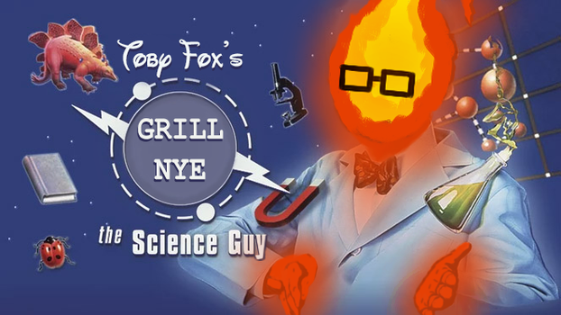 Grill Nye The Science Guy by colebotman