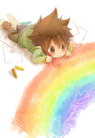 Kawaii Tsuna Render (KHR) by Feary-Bad-Day