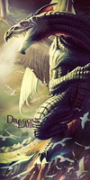Dragons Lair by KrazyKazza