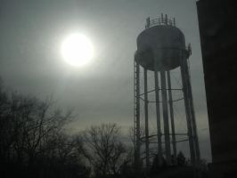 The water tower by Loveistheknife