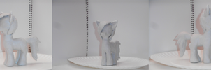 First SUCCESSFUL Clay Pony: Stephanie by nyan-cat-luver2000