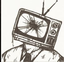 Television Head by JupiterSequence