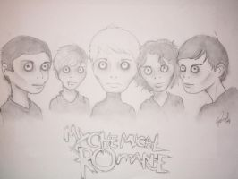 My Chemical Romance by spring-Rayne