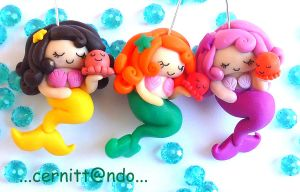 Mermaids, work in progress... by cernittando