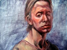 Oil Painting Portrait by daviddaylee