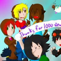 Thanks for 1000 pageviews by narupikalover