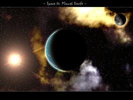 Space 11 Planet Earth by swarfega