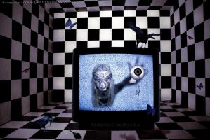 You'll Go Blind watching TV by Blooded-Bodacea