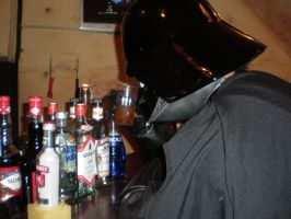Vader Has A Drinking Problem by masterbarkeep
