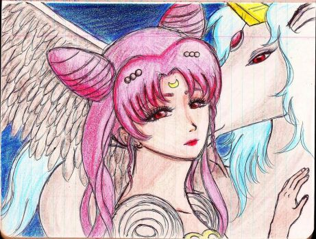chibiusa-hime by dingdongsocks