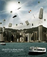 Gravity And Hong Kong by khoitibet