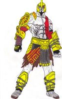 Kratos Armor by DBZ2010