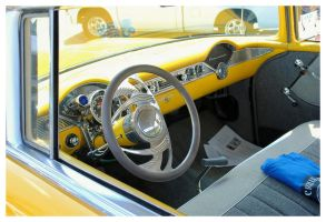 1956 Chevy Interior by TheMan268