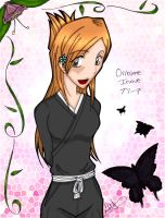 Shinigami Orihime Coloured by Leena-Erufu