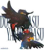 SKD 016 - Murkrow and Honchkrow by AutobotTesla