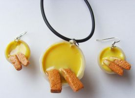 11th Doctor Who  - Fish Fingers and Custard Set by tyney123