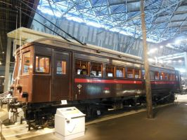 Taisho Period Chuo Line Electric Railcar Nade-6141 by rlkitterman