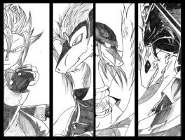 The Legendary Four in 5 years by Torino0101