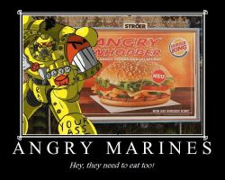 Angry Marines by wolvesofruss