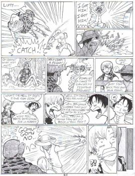 OPD pg64: Luffy Can't Catch by Garth2The2ndPower