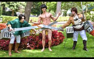 Eren!Titan, hide your shame! by pitchperfect