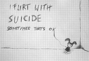 Flirt with suicide -Manis- by Mani14