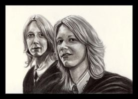 Fred and George by SarahSilva
