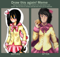 Draw This Again Meme - Ochinpo by skrillbug