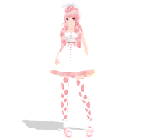 [MMD Collab] Sweets Collab ~ Gumdrop-chan by SapphireRose-chan