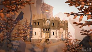 castle [LowPoly] by Mezaka