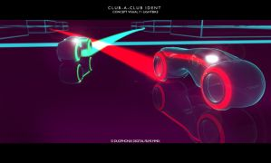 CLUBaCLUB Ident concept2 TRON2 by Duophonix