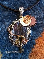 Steampunk Necklace 4 by Tokyo-Trends