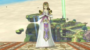Princess Zelda (normal costume) by isaac77598