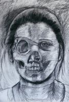 My Decaying Face by abflabby