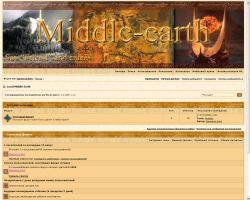 Middle Earth IPB Skin by Daniela-Chris