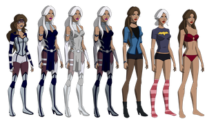 YJ: Stardust S2 Outfits by GothamTaco