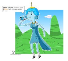 Twitter Princess by Dustin-C