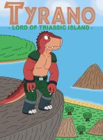Tyrano - the Lord of Triassic Island by MCsaurus