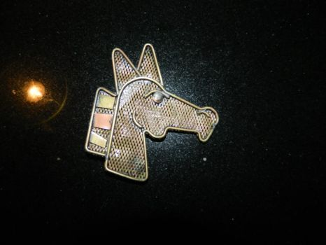 Steampunk pony pin by Paul-Nasca