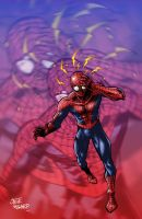 spiderman no 4 marvel2 by StevenHoward